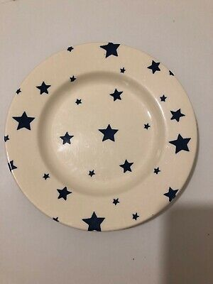 Emma Bridgewater 8.5  Inch Discontinued Side Plate Starry Skies Blue • 9£