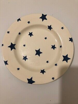 Emma Bridgewater 8.5  Inch Discontinued Side Plate Starry Skies Blue • 6.50£