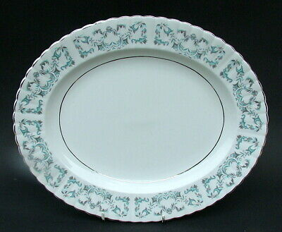 Royal Stafford 1980's Harmony Pattern Oval Serving Platter 33cm - Looks In VGC • 19.95£