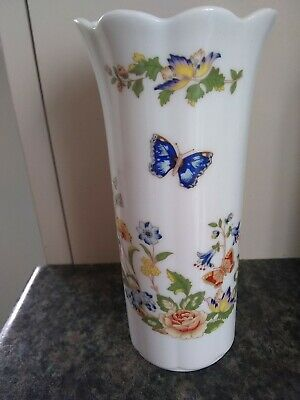 Aynsley Cottage Garden, Fine Bone China Vase • 1.50£