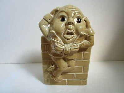Wade Nursery Rhyme Money Box - Humpty Dumpty - With Original Stopper • 12£