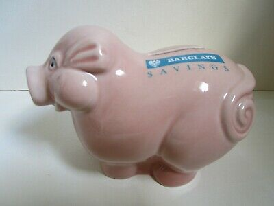 Wade Barclays Savings Pig Money Box, With Original Stopper • 8£