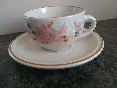 Boots Hedge Rose Cup & Saucer • 1.50£