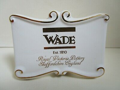 Wade Point Of Sale Display Plaque • 8£