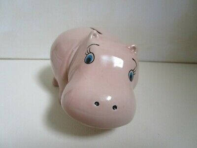 Wade Pink Hippo Money Box • 12£