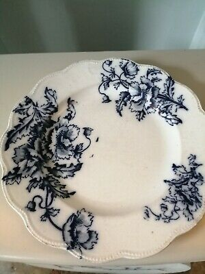Antique Barkers And Kent B & K Ltd 1898 Blue And White Plates X 2 • 0.99£