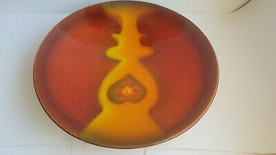 Poole Pottery 42cm Uri Geller Mosaic Charger Plate Boxed  • 99£