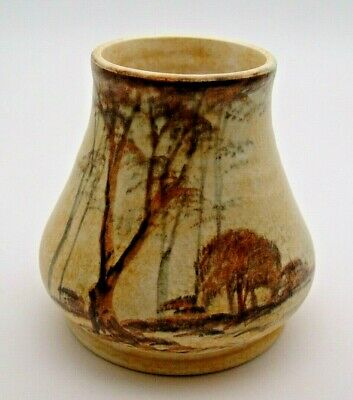 ART DECO E. RADFORD TALL TREES VASE C.1930's - PERFECT • 29.99£