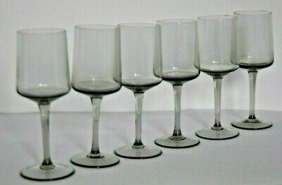 Orrefors Glass Vintage Sherry/Wine Glasses (Six) 1950s • 24.95£