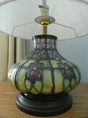 Large Contemporary Complete Moorcroft  Lamp  • 129.95£