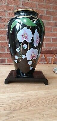 Franklin Mint Original 'the Vase Of The Fragrant Orchid' By Makoto Miyagi • 16.50£