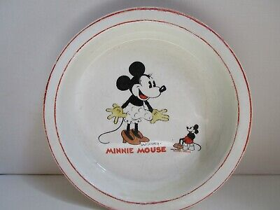 Wade Heath Walt Disney 1930s Mini Mouse Dish • 24£