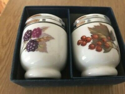 Royal Worcester Egg Coddlers Boxed • 15£