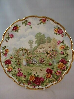 Royal Albert Celebration Of Old Country Roses Decorative Plate 1st Quality • 17.99£