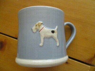 Hogben  Pottery  Small  Mug  Terrier • 19.99£