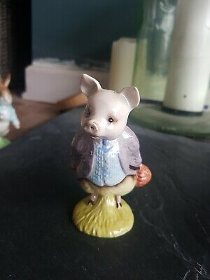 Royal Albert Beatrix Potter's Pigling Bland Figurine • 3.30£