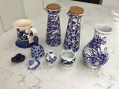 Blue And White Pottery • 15£