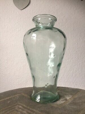 Large Clear Glass Flower Vase 35cm Tall • 12.99£