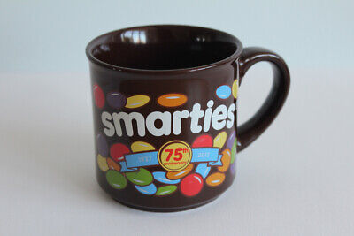 Hornsea Pottery Blue Smarties 75th Anniversary Mug Excellent Condition • 4£