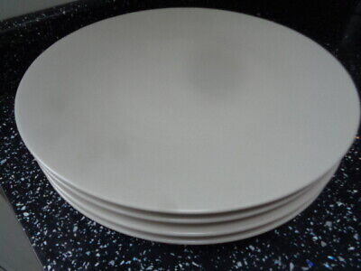 Marks And Spencer Andante Dinner Plates X 4 - Cream • 30£