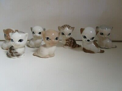 Szeiler Collection Of 7 Kittens Of Various Colours • 14£