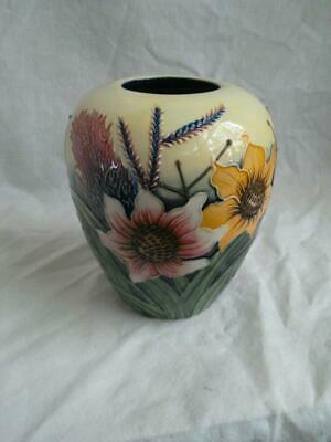 Old Tupton Ware SUMMER BOUQUET  Tube Lined Vase -1134 • 37.50£