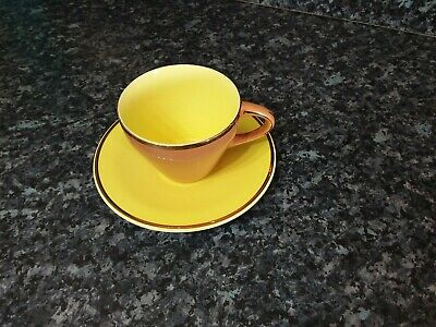 Vintage Palissy England Mardi Gras 22 Carat Gold Cup And Saucer • 8.50£