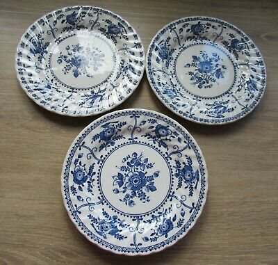 Johnson Brothers  Blue Indie China - Small Side Plates • 3£