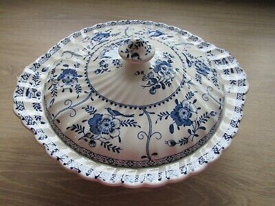 Johnson Brothers  Blue Indie China - Tureen • 6£