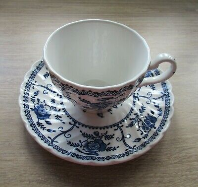 Johnson Brothers  Blue Indie China - Cup And Saucer • 2£