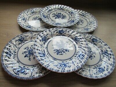 Johnson Brothers  Blue Indie China - Side Plates • 8£
