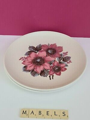 LORD NELSON POTTERY ~NEW DAWN~ Dinner Plates X 2 • 10.99£