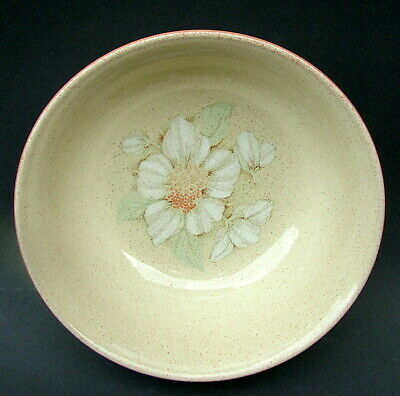 Denby 1990's Daybreak Pattern Soup Cereal Or Dessert Bowls 16.5cmw - Look In VGC • 7.50£