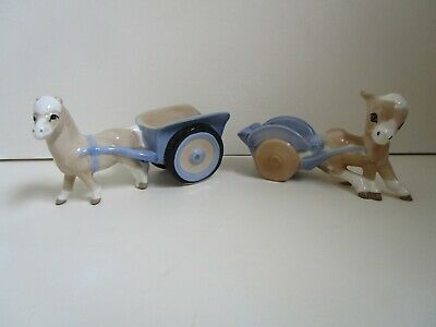 Szeiler Pony And Cart And Donkey And Cart Figures • 14£