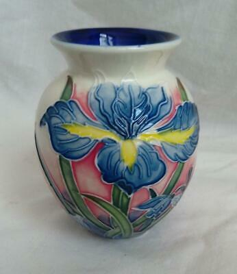 Old Tupton Ware IRIS Tube Lined  - 4 Inch Traditional Vase • 21.95£