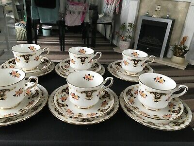 Vintage Royal Standard Bone China Cup /saucer And Side Plates X 6 • 25£