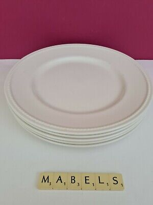 ROYAL STAFFORD ~CREAMWARE - PORTSMOUTH~ Dinner Plates X 5 • 29.99£