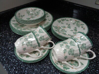 Bhs Country Vine Dinner Service For 4 • 45£