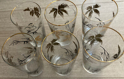 Vintage Small Tumblers Etched Design • 2.85£