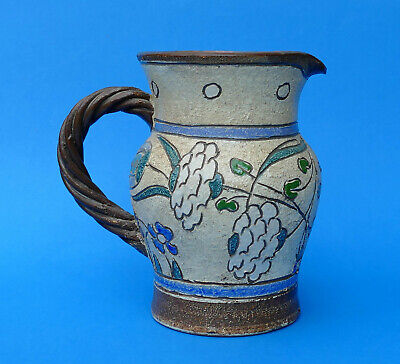 HONITON POTTERY  - OLD & Interesting Stippled & Incised Pattern - Impressed Mark • 23£