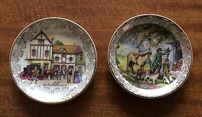 Antique Midwinter Pin Dishes • 3£