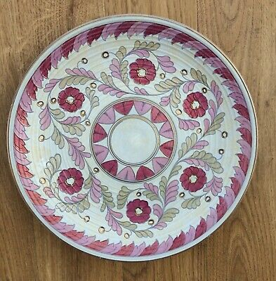Charlotte Rhead  Palermo Crown Ducal  Charger Plate 12.5 Inches • 49.99£