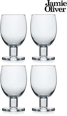 Jamie Oliver Wine Glasses 35 Cl - Set Of 4 High Quality Wine Glasses • 21.99£