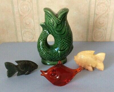 Dartmouth Pottery Fish & 3 Others • 7.50£