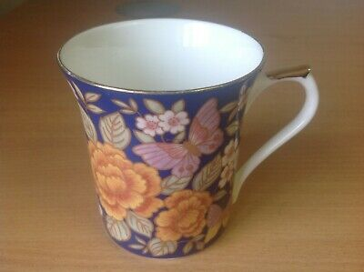 Queens Bone China - Indigo - Mug • 4.95£