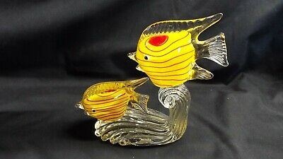 Lafiore Hand Made Glass Fish, Spain • 14.99£