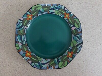 Charlotte Rhead Plate Pattern 532 By Bursley Ware In Excellent Condition • 42£