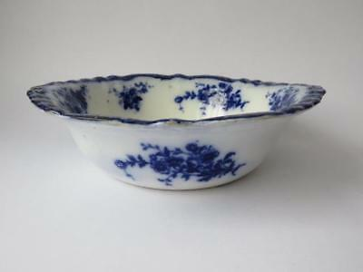C 1885 Antique Flow Blue Bowl - Henry Alcock & Co Flow Blue Bowl • 24.99£