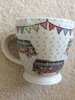 Queens By Churchill - The Caravan Trail - Festival Campers Mug • 6.99£