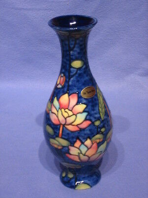 Old Tupton Ware Blue Water Lily 10 Inch Vase • 34.99£